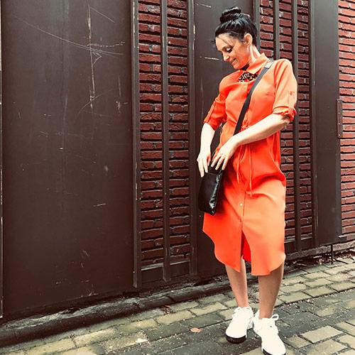 lingerie-femina-Sint-Niklaas-nancy-fashion-oranje-kleed