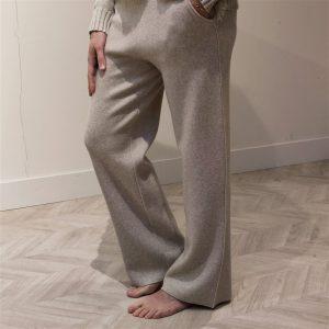 Homewear broek Beige