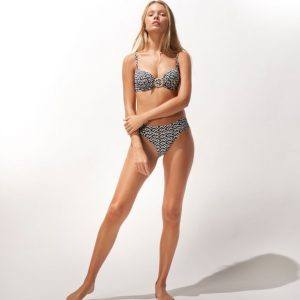 Watercult Ethno Craft Bikini Top Zwart
