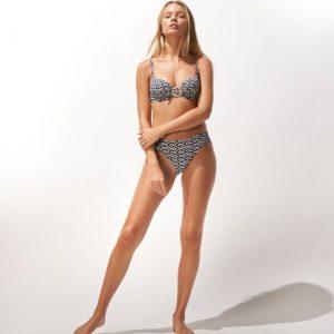 Watercult Ethno Craft Bikini Slip Zwart