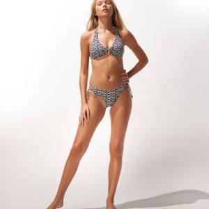 Watercult Ethno Craft Halter Bikini Zwart