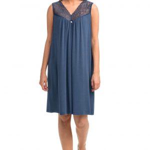 Vamp Nachtkleed Blauw