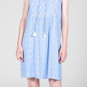 Senoretta Nachtkleed Lichtblauw