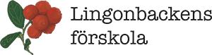 Logotyp för Lingonbackens förskola