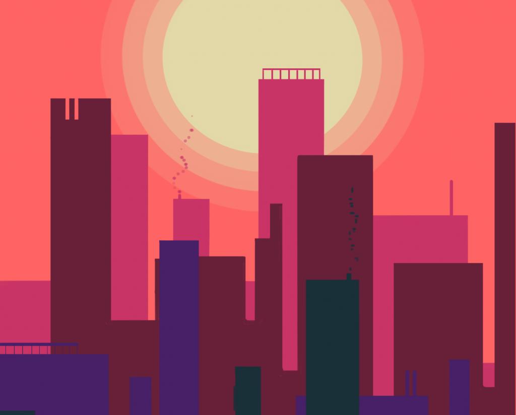 graphic design city