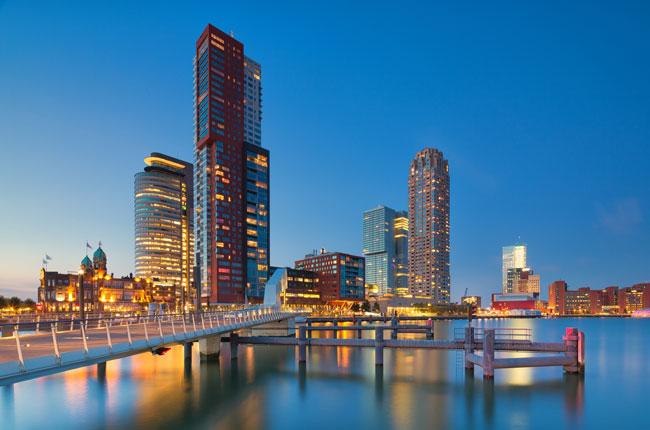 Skyline Rotterdam Real Estate Netherlands