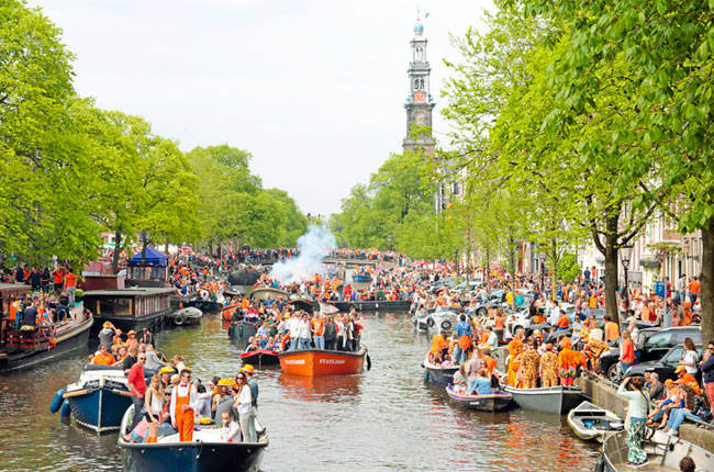 Amsterdam celebration, Holland tourism