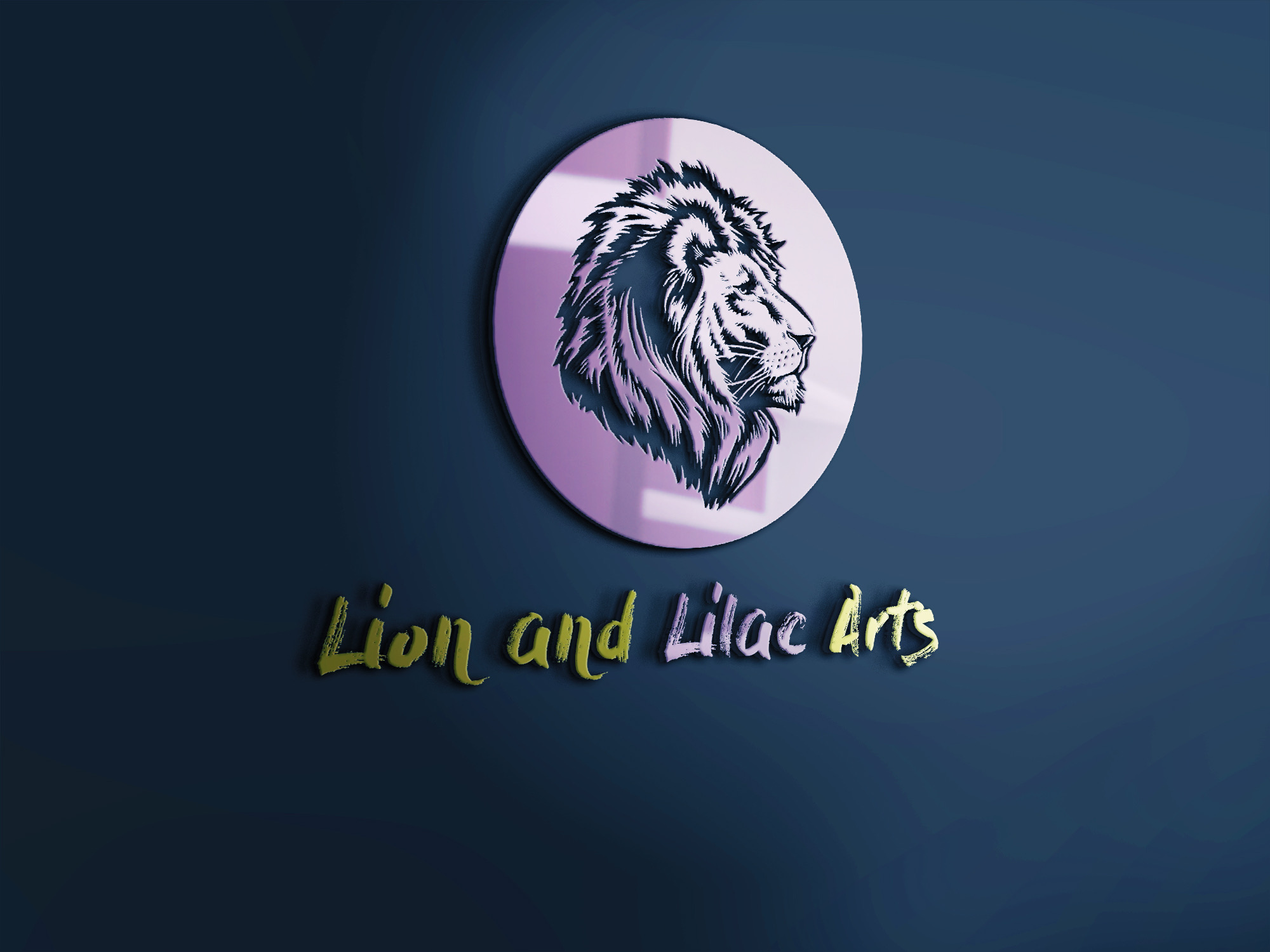 Lion and Lilac