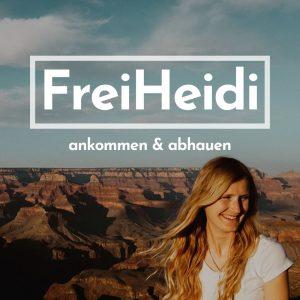 FreiHeidi Podcast über Reisen und Selbstfindung