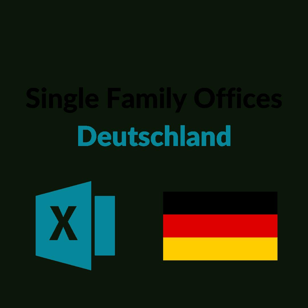Liste Single Family Offices Deutschland