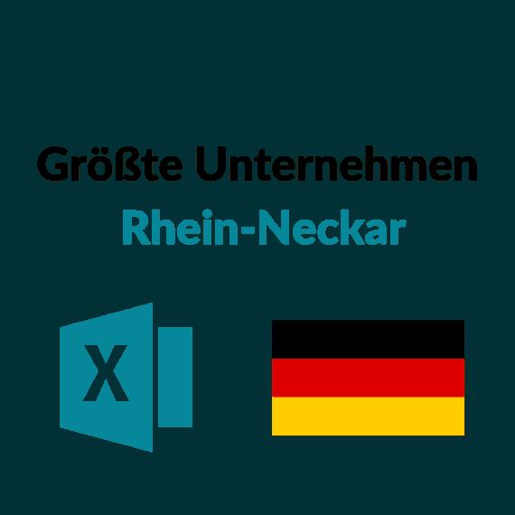 Liste Größte Unternehmen Rhein Neckar (1)