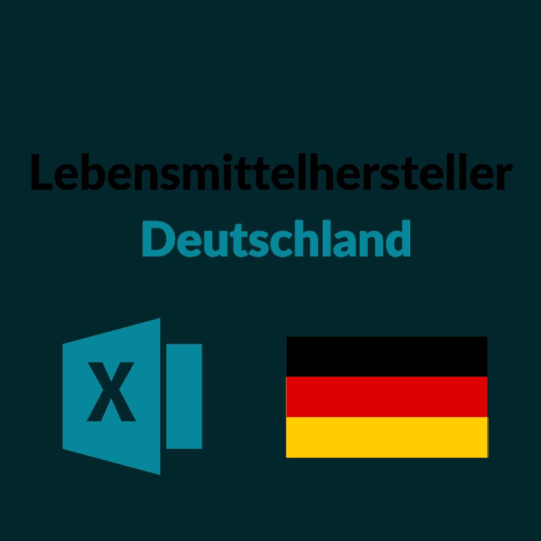 Liste Lebensmittelhersteller Deutschland