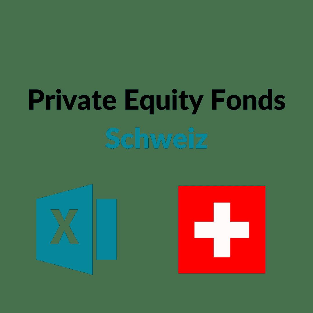liste private equity fonds schweiz