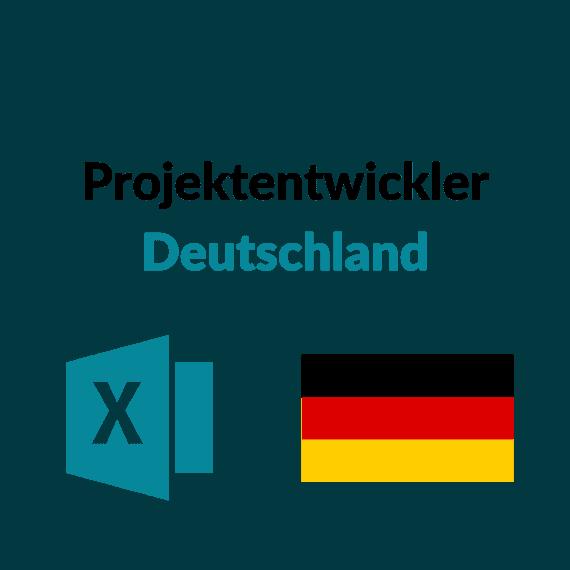 liste projektentwickler deutschland
