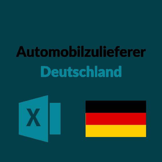 Liste Automobilzulieferer Deutschland