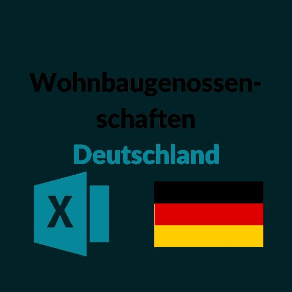 liste wohnbaugenossenschaften deutschland