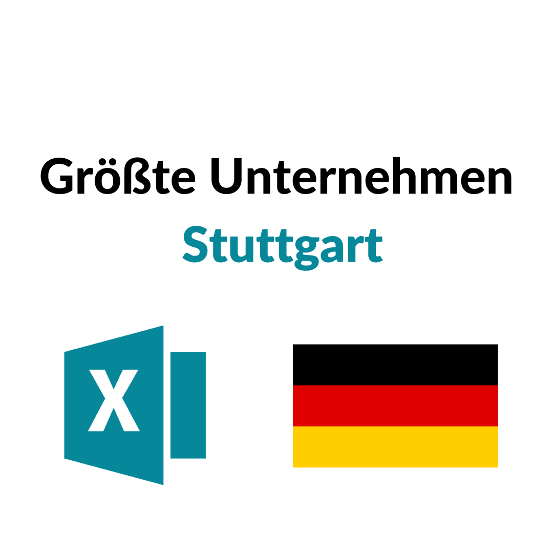 Liste Größte Unternehmen Stuttgart