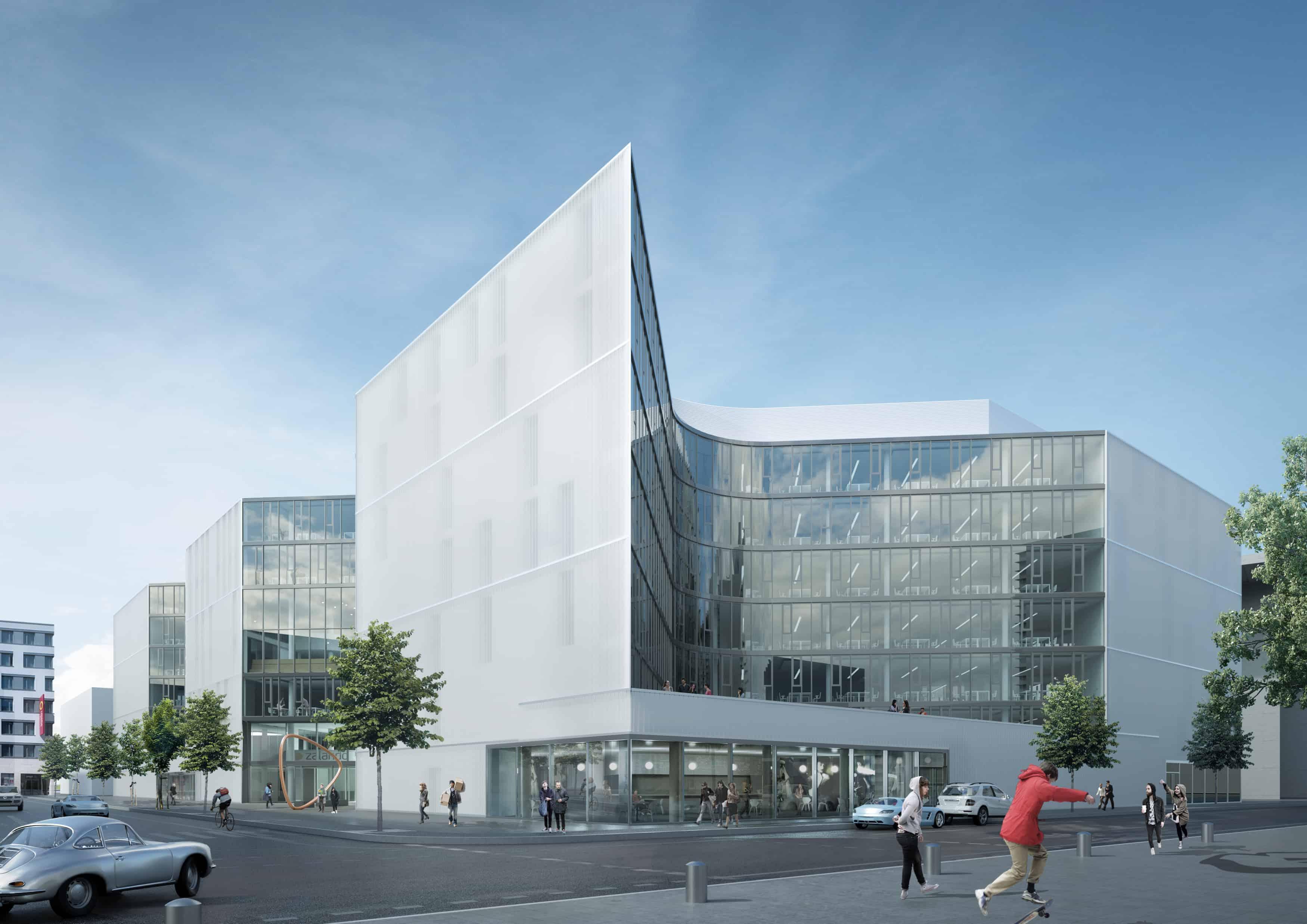 Berliner Immobiliendeal Zalando HQ verkauft © HENN
