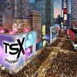 TSX Broadway Blick auf Times Square