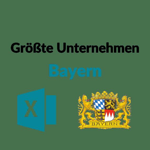 datenbank größte unternehmen bayern liste