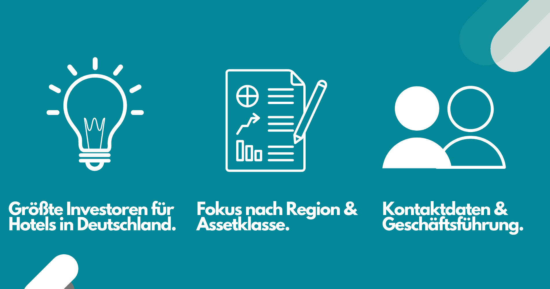 Daten Hotel Investoren Deutschland