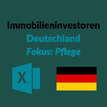 Immobilieninvestoren Pflege Gesundheit Altersheim Pflegeheim Deutschland