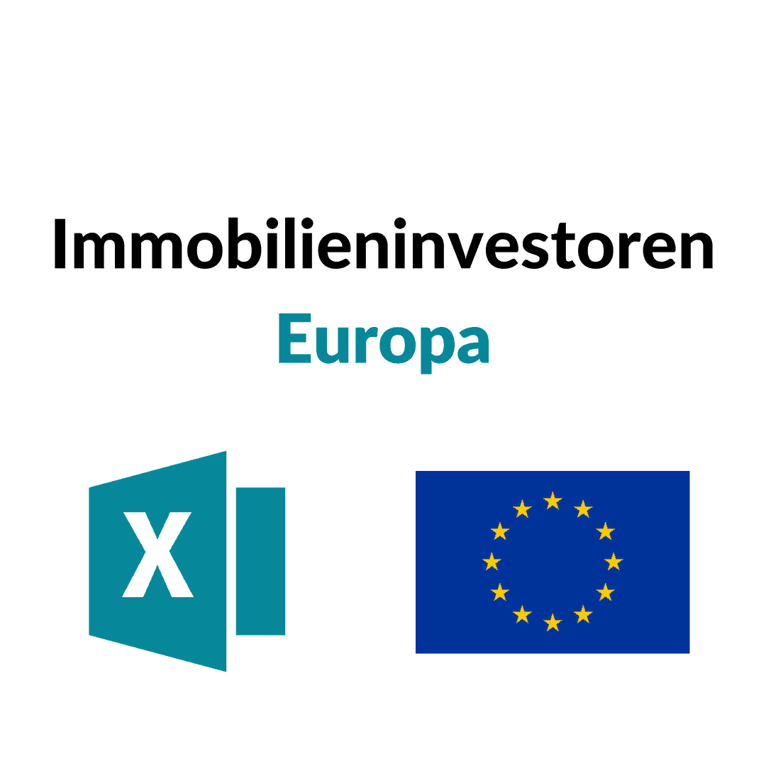 Liste Immobilieninvestoren Europa