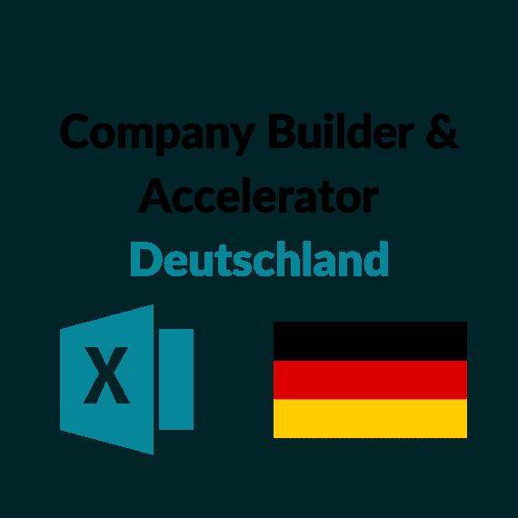 Größte Company Builder Accelerator Deutschland