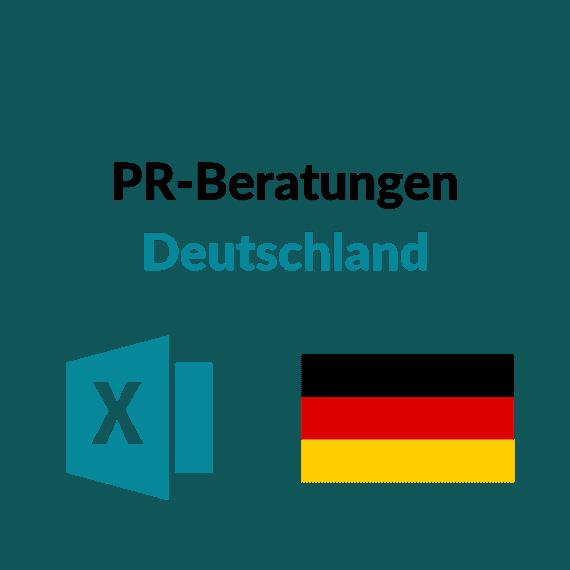 Liste Public Relations Beratungen Deutschland