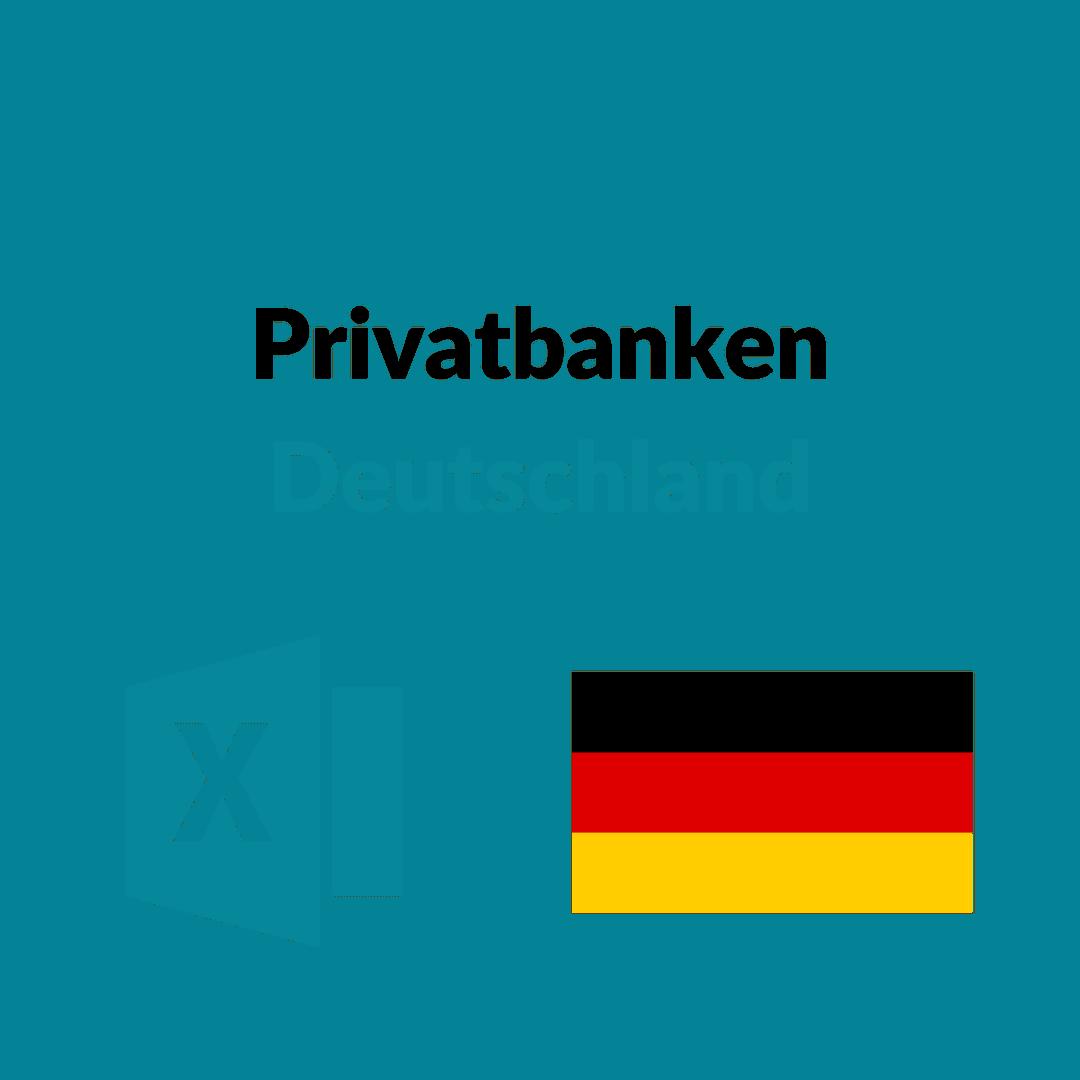 liste größte privatbanken deutschland