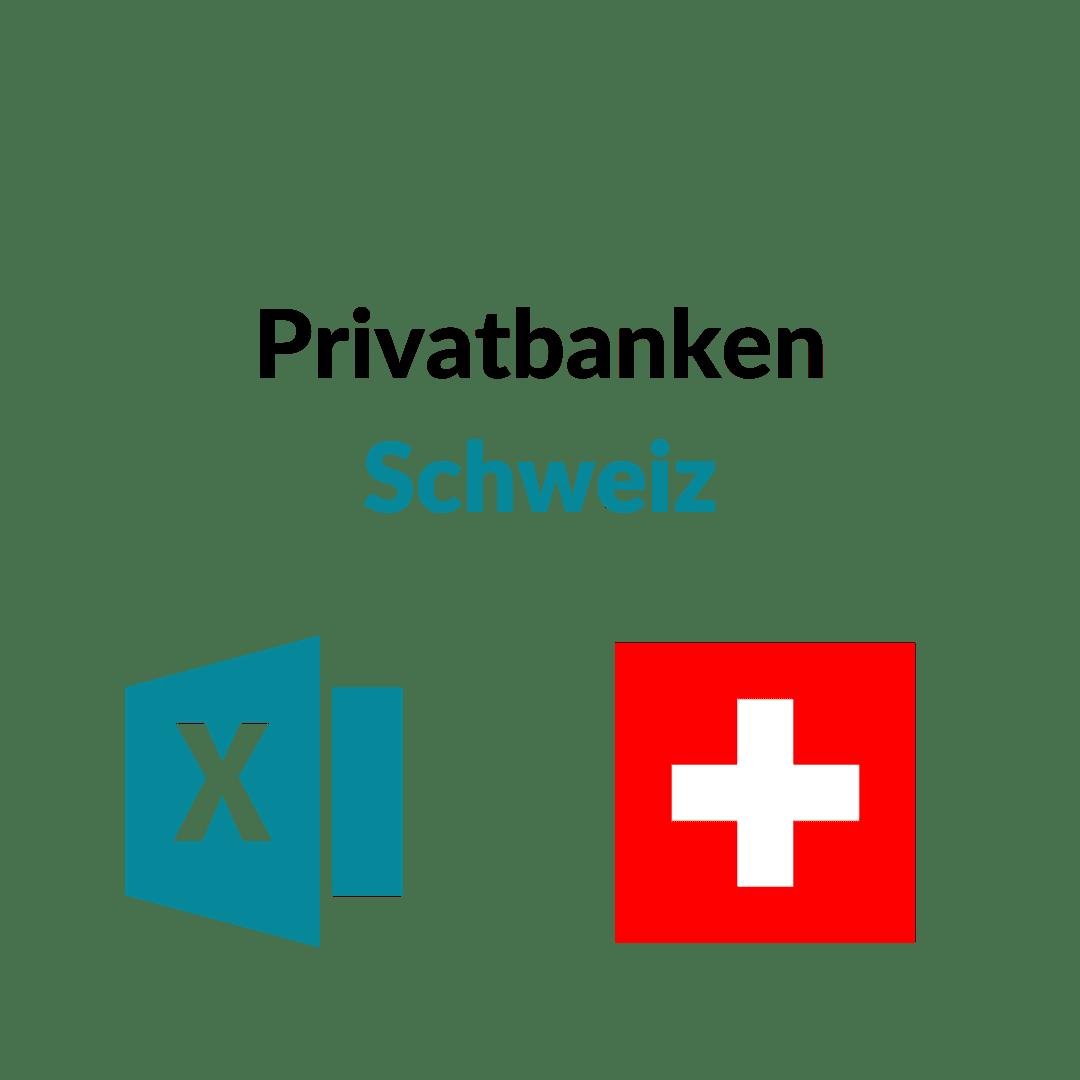 Privatbanken Schweiz