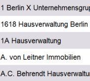 Vorschau Hausverwaltungen Berlin