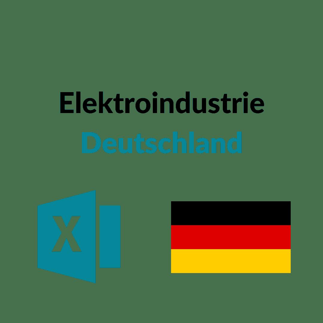 Elektroindustrie Deutschland
