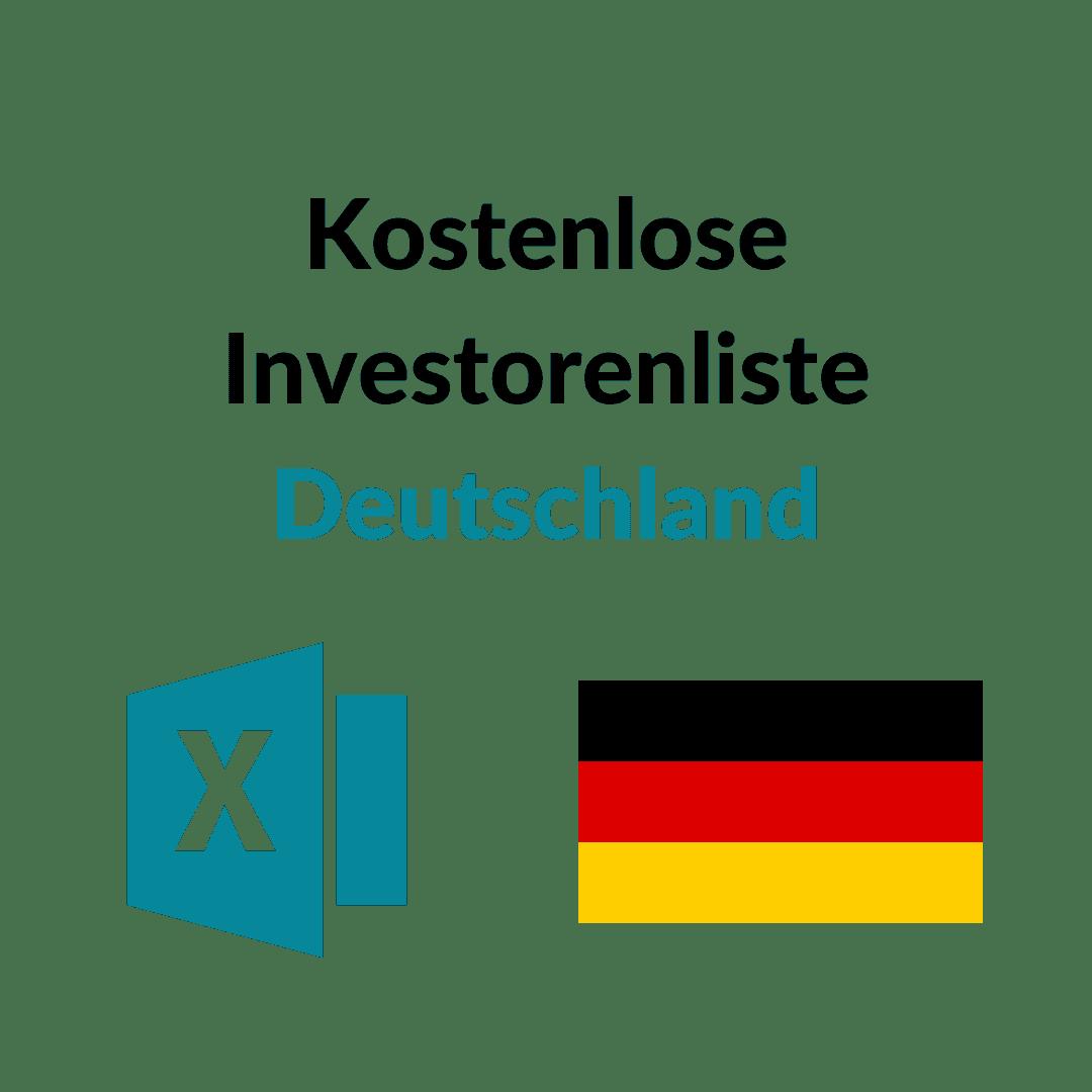 Kostenlose Investorenliste
