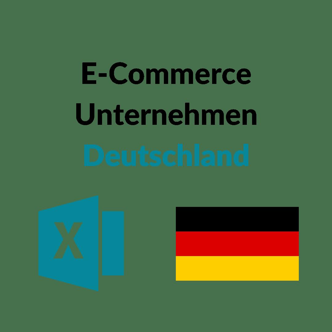 E-Commerce Unternehmen Deutschland