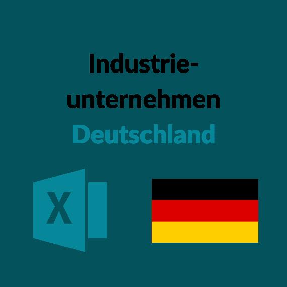 Industrieunternehmen Deutschland