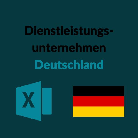 Liste Dienstleistungsunternehmen Deutschland