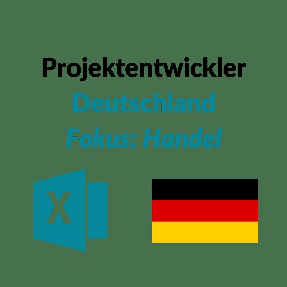 Projektentwickler Handel DE