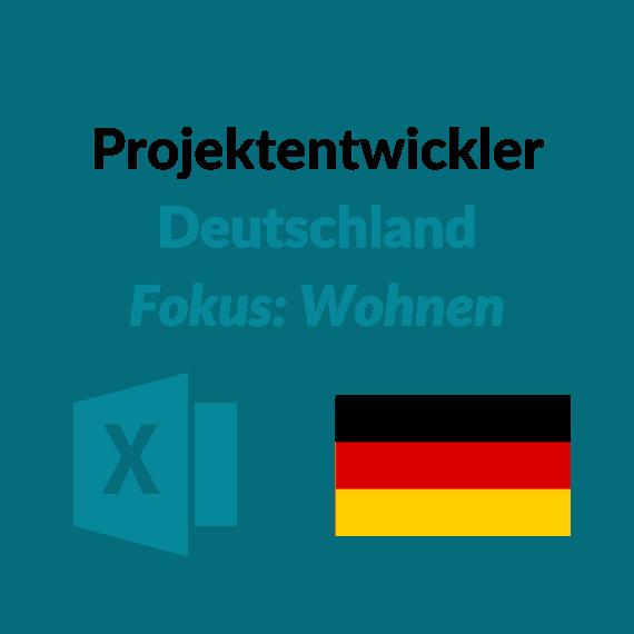Projektentwickler Wohnen DE