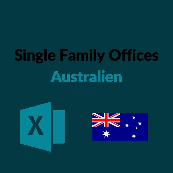 liste single family offices australien