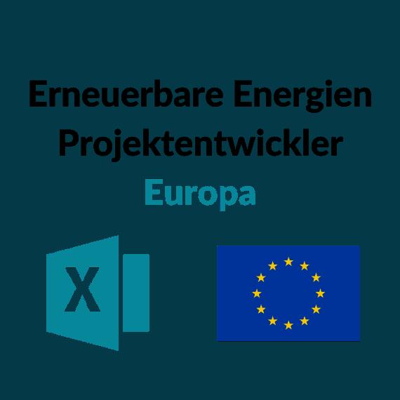 Erneuerbare Energien Projektentwickler Europa