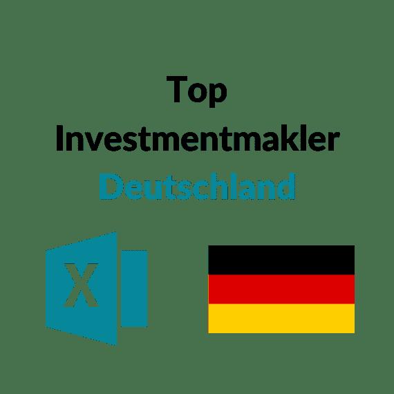 Investmentmakler Deutschland