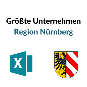 Umsatzstärkste Unternehmen Nürnberg