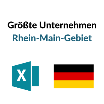 Größte Unternehmen Rhein-Main-Gebiet