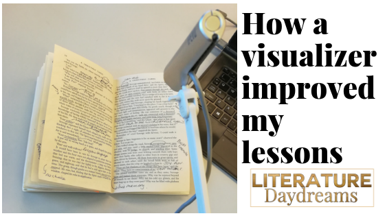 visualizer and words saying how a visualizer improved my lessons