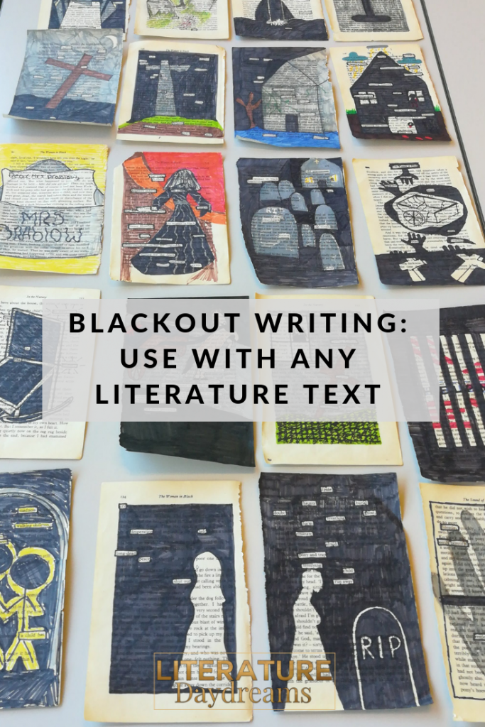 Examples of blackout writing