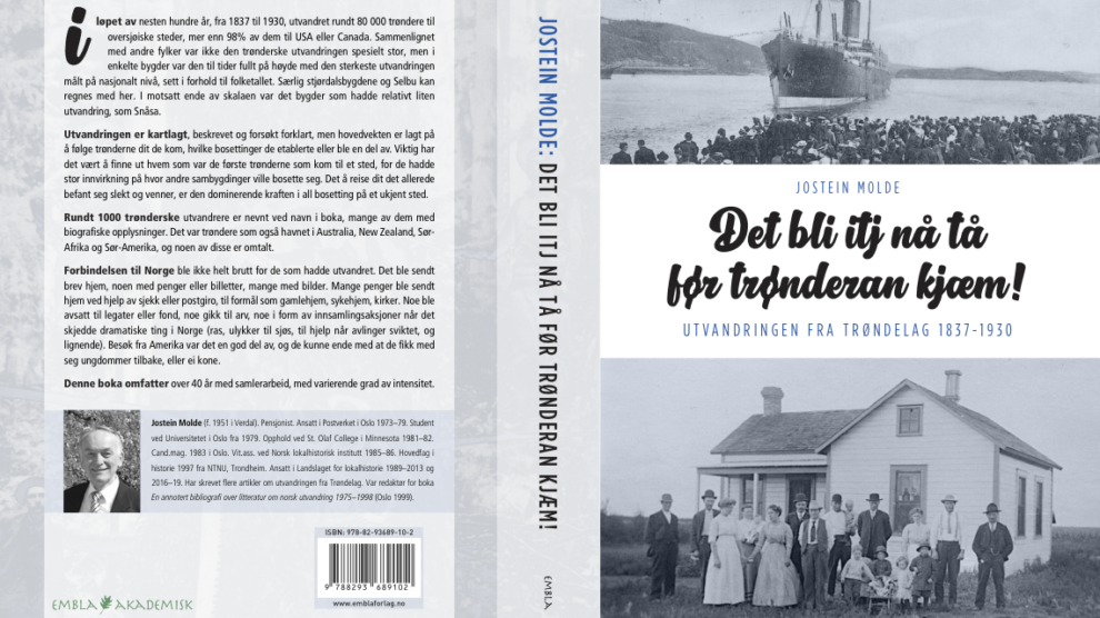 Utvandringen fra Trøndelag
