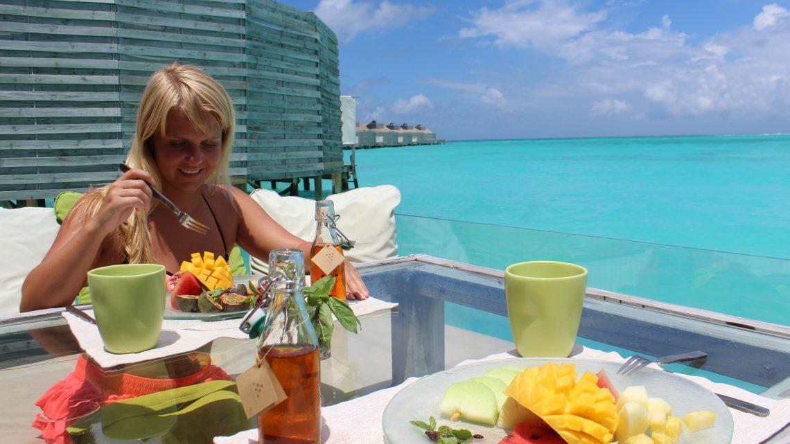 Turen til Maldiverne