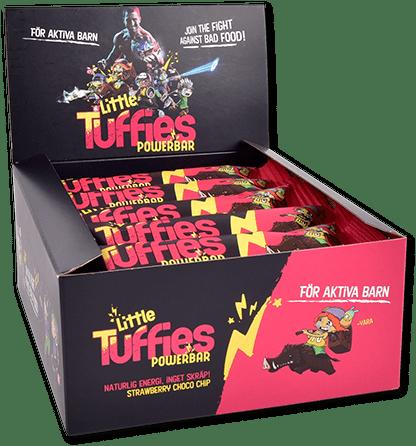 Little Tuffies mellanmål för barn med smak av jordgubbe