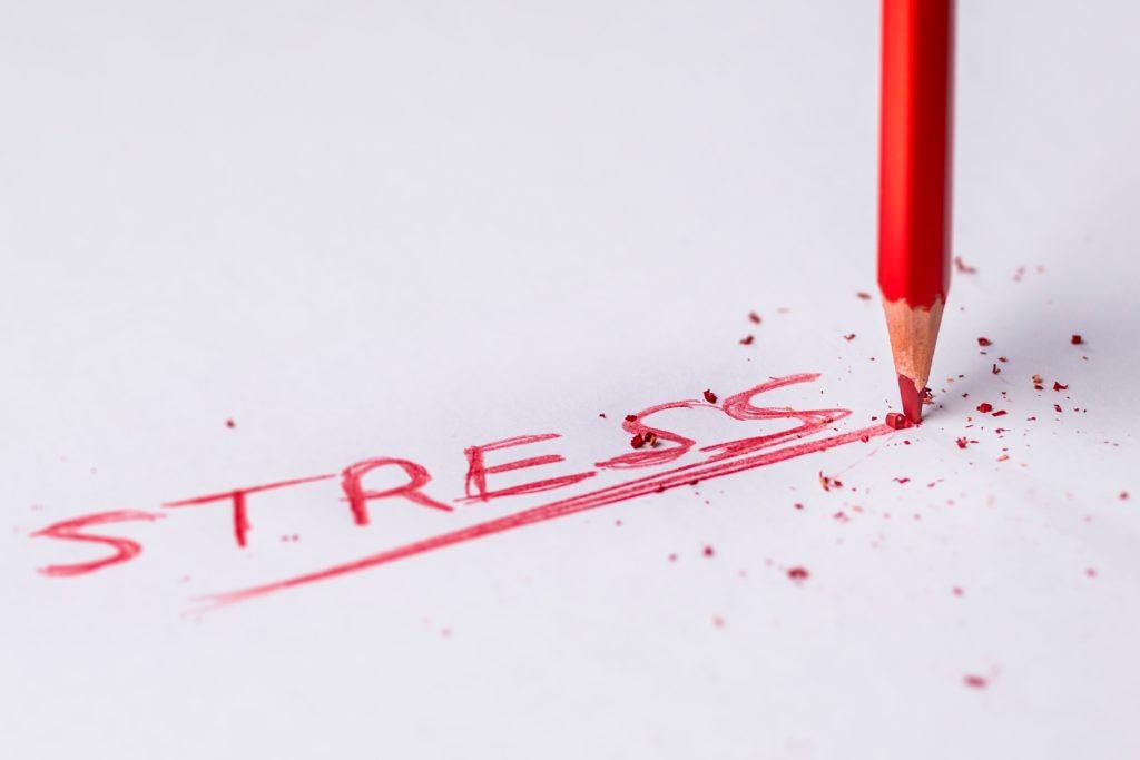 ontstressen schrijven